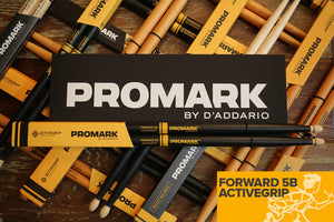 PROMARK FORWARD 5B ACTIVEGRIP ACORN DRUM STICKS