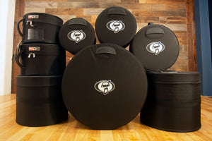 "PROTECTION RACKET AAA FLEECE LINED RIGID DRUM CASES 8"" - 26"""