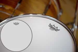 "REMO AMBASSADOR SMOOTH WHITE DRUM HEAD (SIZES 6"" TO 26"")"