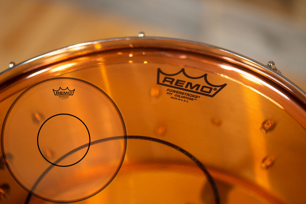 14 Remo Powerstroke 77 Colortone Orange Drumhead