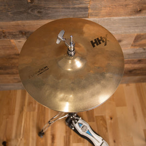 "SABIAN 13"" HHX EVOLUTION HI-HAT CYMBALS (PAIR) (PRE-LOVED)"