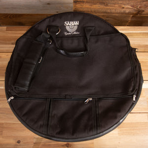 "SABIAN SUPER DELUXE CYMBAL BAG WITH PADDED SHOULDER STRAPS, HOLDS UP TO 22"" CYMBALS (PRE-LOVED)"