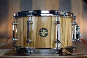 SIA 13 X 7 BLACKHEART SOLID STAVE BLOCK SHELL SNARE DRUM