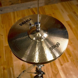 "STAGG 13"" SENSA MEDIUM HI-HAT CYMBALS (PAIR)"