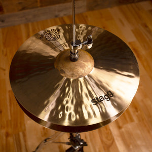 "STAGG 14"" GENGHIS EXO MEDIUM HI-HAT CYMBALS (PAIR)"