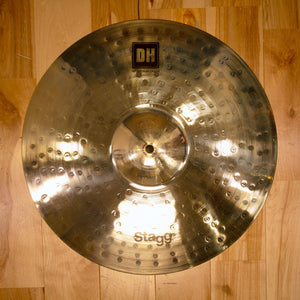 "STAGG 16"" DUAL HAMMERED DH BRILLIANT MEDIUM CRASH CYMBAL"