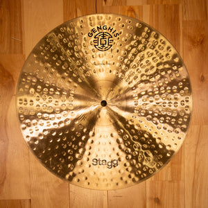 "STAGG 16"" GENGHIS CLASSIC MEDIUM CRASH CYMBAL"