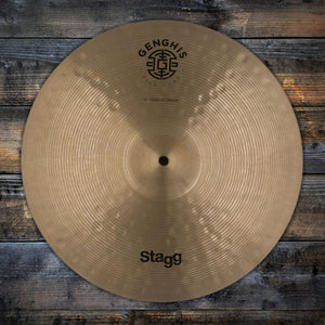"STAGG 16"" GENGHIS CLASSIC MEDIUM CRASH CYMBAL (PRE-LOVED)"