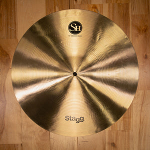 "STAGG 16"" SINGLE HAMMERED SH MEDIUM CRASH CYMBAL"