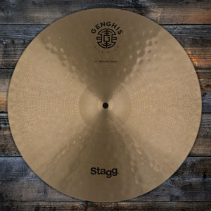 "STAGG 17"" GENGHIS CLASSIC MEDIUM CRASH CYMBAL (PRE-LOVED)"