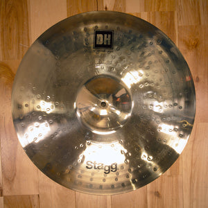 "STAGG 18"" DUAL HAMMERED DH MEDIUM CRASH CYMBAL"