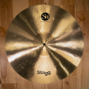 "STAGG 18"" SINGLE HAMMERED SH MEDIUM CRASH CYMBAL"