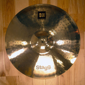 "STAGG 20"" DUAL HAMMERED DH MEDIUM RIDE CYMBAL"