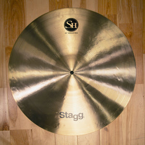 "STAGG 20"" SINGLE HAMMERED SH MEDIUM RIDE CYMBAL"