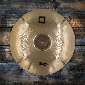 "STAGG 16"" DUAL HAMMERED DH BRILLIANT EXO MEDIUM CRASH CYMBAL"