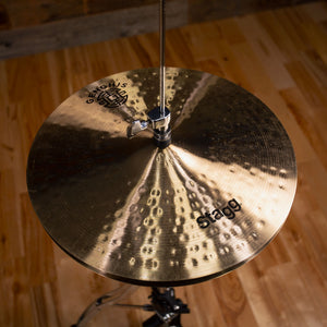 "STAGG 14"" GENGHIS CLASSIC MEDIUM HI-HAT CYMBALS (PAIR) (EX-DEMO)"