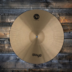 "STAGG 14"" SINGLE HAMMERED SH MEDIUM CRASH CYMBAL"