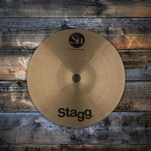 "STAGG 6"" SINGLE HAMMERED SH MEDIUM SPLASH CYMBAL SN0036"