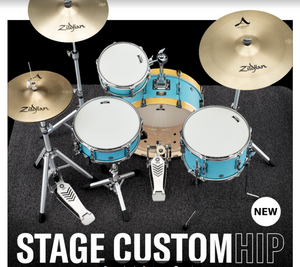 YAMAHA STAGE CUSTOM HIP DRUM KIT - WINTER NAMM 2020 PREVIEW