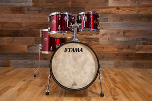 "TAMA IMPERIALSTAR IE58 18"" BASS DRUM MICRO BOP 3 PIECE DRUM KIT, WINE RED (PRE-LOVED)"
