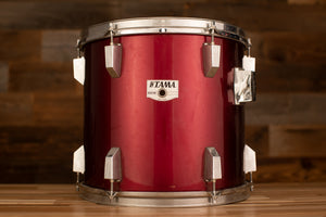 TAMA 13 X 11 ROCKSTAR TOM, BURGUNDY RED (PRE-LOVED)