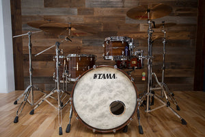 TAMA STAR BUBINGA 4 PIECE DRUM KIT, NATURAL INDIAN LAUREL (PRE-LOVED)