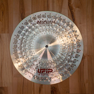 "UFIP 14"" NATURAL SERIES LIGHT HI HAT CYMBALS (PAIR)"