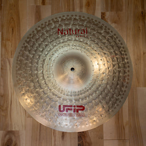 "UFIP 17"" NATURAL SERIES CRASH CYMBAL"
