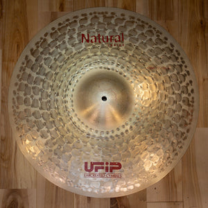 "UFIP 19"" NATURAL SERIES CRASH CYMBAL"