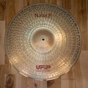 "UFIP 20"" NATURAL SERIES MEDIUM RIDE CYMBAL"