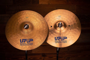 "UFIP BIONIC SERIES 14"" HI-HAT CYMBAL PAIR (PRE-LOVED)"