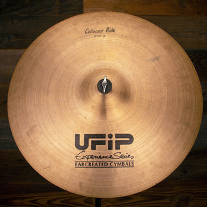 "UFIP EXPERIENCE SERIES 22"" COLLECTORS RIDE CYMBAL (PRE-LOVED)"