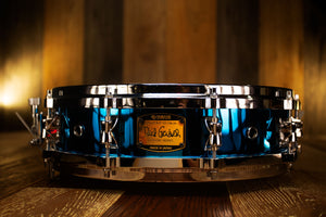 YAMAHA DAVID GARIBALDI SIGNATURE 14 X 3.5 BRASS SNARE DRUM SD-435ADG (PRE-LOVED)