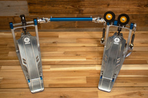 YAMAHA DFP9D DIRECT DRIVE DOUBLE BASS DRUM PEDAL WITH CASE