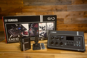 YAMAHA EAD10 ELECTRONIC ACOUSTIC DRUM SOUND MODULE AND TRIGGER SYSTEM