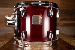 YAMAHA 10 X 8 MAPLE CUSTOM ABSOLUTE TOM, CHERRY WOOD (PRE-LOVED)
