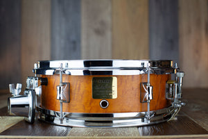 YAMAHA 12 X 4 PETER ERSKINE SIGNATURE SNARE DRUM, MAPLE, VINTAGE NATURAL (PRE-LOVED)