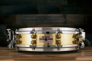 YAMAHA 14 X 3.5 SD493 BRASS PICCOLO SNARE DRUM (PRE-LOVED)