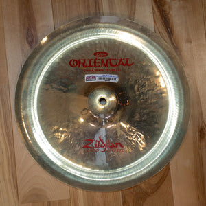 "ZILDJIAN 12"" ORIENTAL CHINA TRASH CYMBAL (PRE-LOVED)"