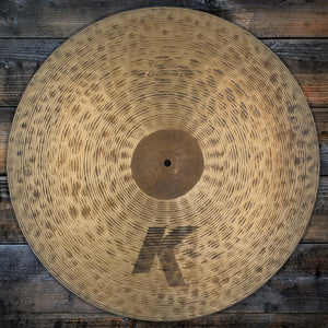 "ZILDJIAN 22"" K CUSTOM HIGH DEFINITION RIDE CYMBAL (PRE-LOVED)"