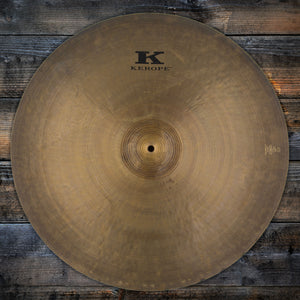 "ZILDJIAN 24"" KEROPE LIMITED EDITION RIDE CYMBAL (PRE-LOVED)"