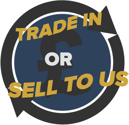 We will trade-in or buy from you