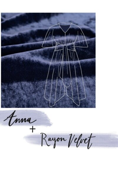 Holiday Fall/Winter Fabric Inspiration for the Anna Dress Pattern