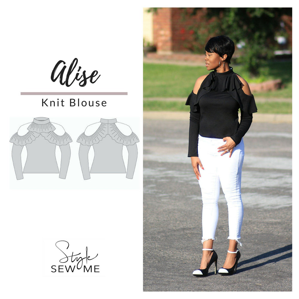 Alise Top Patterns Style Sew Me Patterns PDF