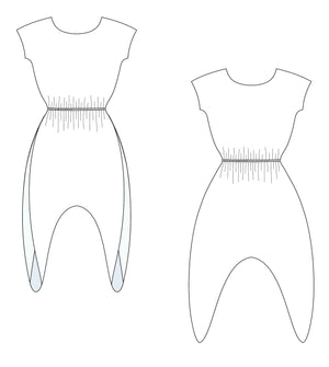 Anitra Jumpsuit Patterns Style Sew Me