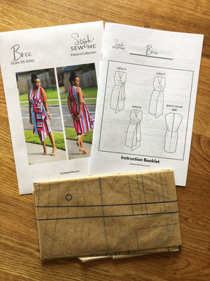 Load image into Gallery viewer, Bree Patterns Style Sew Me Printed