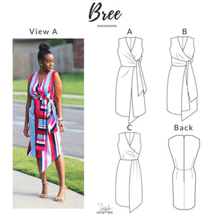 Load image into Gallery viewer, Bree - Printed Patterns Style Sew Me Printed
