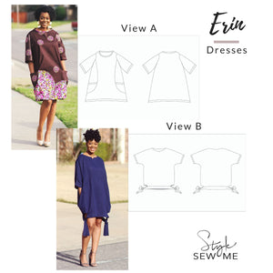 Load image into Gallery viewer, Erin - Printed Patterns Style Sew Me Printed