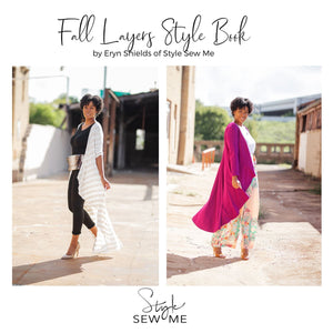 Load image into Gallery viewer, Fall Layering Style Book Style Books Style Sew Me