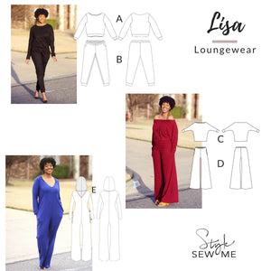 Lisa - Printed Patterns Style Sew Me Printed